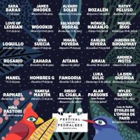 Cartel Festival Jardins Pedralbes 2021