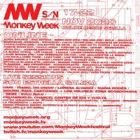 Cartel  Monkey Week SON Estrella Galicia 2020