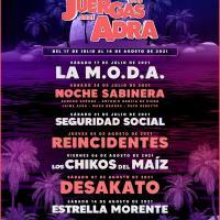 Cartel The Juergas Live Adra 2021
