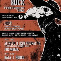 Cartel Vértigo Rock 2021: Kultura Segurua Da Edition