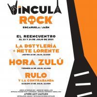 Cartel Víncula Rock 2021