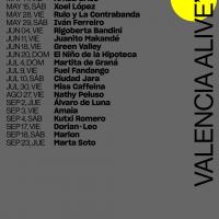 Cartel Valencia Alive 2021