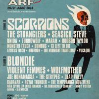 Cartel por días Azkena Rock Festival 2014