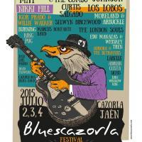Cartel Festival De Blues De Cazorla 2015