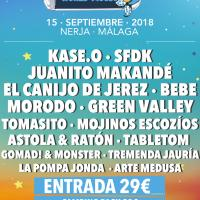 Cartel Chanquete World Music Festival 2018