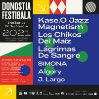 Cartel Donostia Festibala 2021