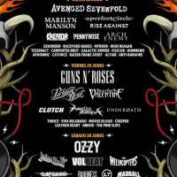Cartel Download Festival Madrid 2018