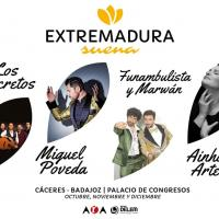 Cartel Extremadura Suena 2021