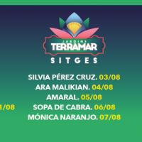Cartel Festival Jardins Terramar 2021