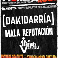 Cartel Moreda Rock 2019