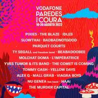 Cartel Vodafone Paredes De Coura 2022