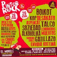 Cartel Pintor Rock 2016