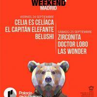 Cartel Polar Live Weekend Madrid 2021