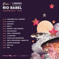Cartel Las Noches de Río Babel 2021
