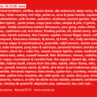 Cartel Sónar 2015