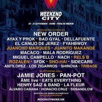 Cartel Weekend City Madrid Festival 2019
