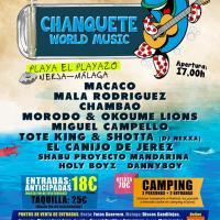 Cartel Chanquete World Music 2016