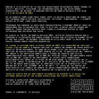 Cartel Madrid Salvaje 2021