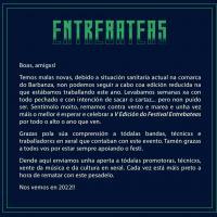 Cartel Festival Entrebateas 2021
