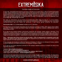 Cartel Extremúsika 2022