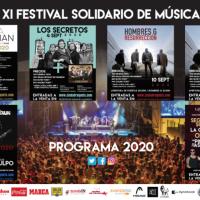 Cartel Festival Solidario Ciudad de la Raqueta 2020