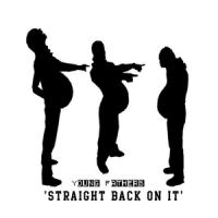 Straight back on it