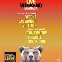 Cartel Polar Live Weekend Granada 2021