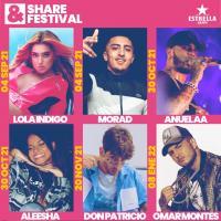 Cartel Share Festival Barcelona 2021