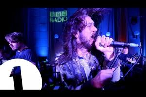 Four Walls, in session for the Radio 1 Rock Show
