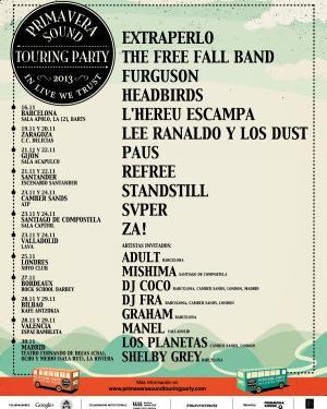 Primavera Sound Touring Party 2013