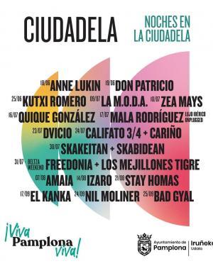 Noches en la Ciudadela de Pamplona 2021