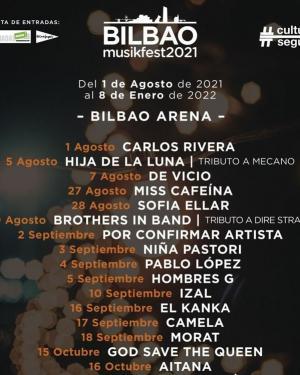 Bilbao Musikfest 2021