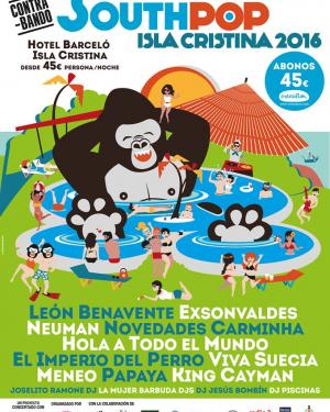South Pop Festival 2016 (Isla Cristina)
