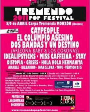 Tremendo PoP Festival 2011