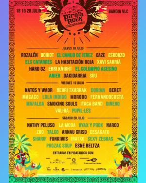 Pirata Rock Gandía Festival 2019