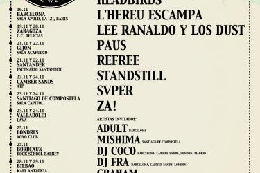 Cartel Primavera Sound Touring Party 2013