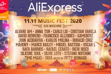 AliExpress 11.11 Music Fest 2020