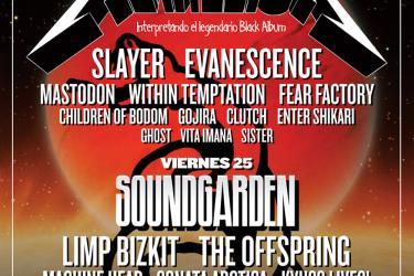 Cartel Sonisphere Festival 2012