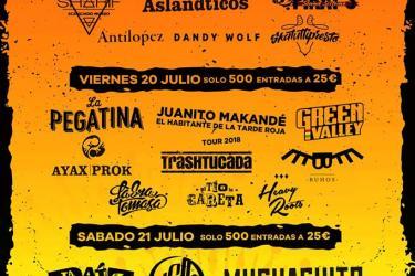 Cartel Pirata Rock Gandía Festival 2018