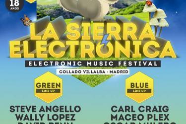 Cartel La Sierra Electrónica 2013