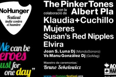 Cartel No Hunger 2012 Barcelona