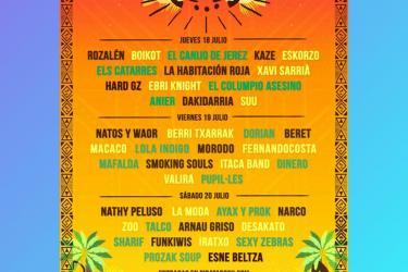 Cartel Pirata Rock Gandía Festival 2019