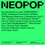 Cartel NEOPOP Electronic Music Festival